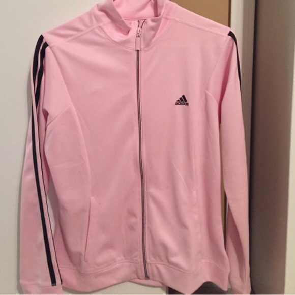 97dca3d1fce8 adidas Tops - Light pink track jacket by adidas